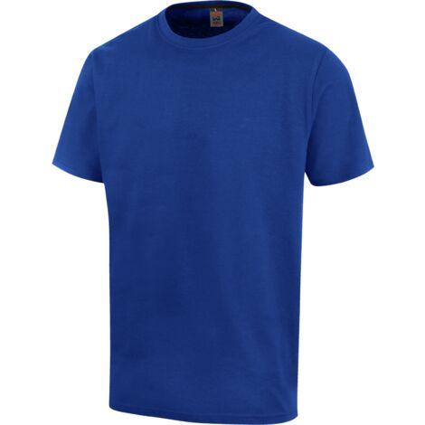 Tee-shirt de travail Job+ Würth MODYF bleu royal