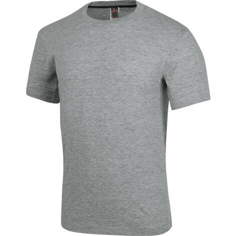 "main image of ""Tee-shirt de travail Job+ Würth MODYF gris"""