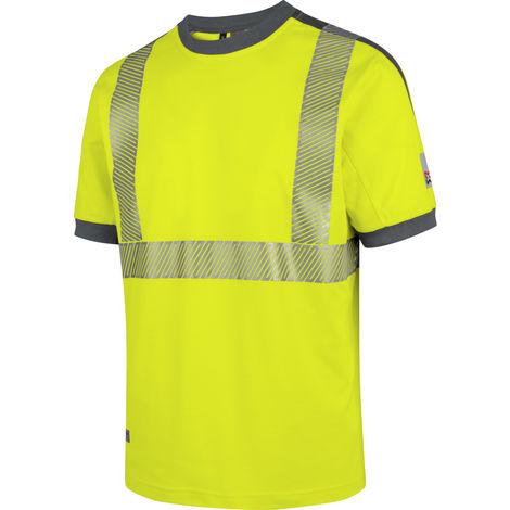 Tee-shirt de travail Neon Würth MODYF jaune