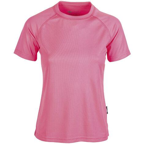 df1fca1f366 Tee-shirt respirant femme Pen Duick Rose Fluo