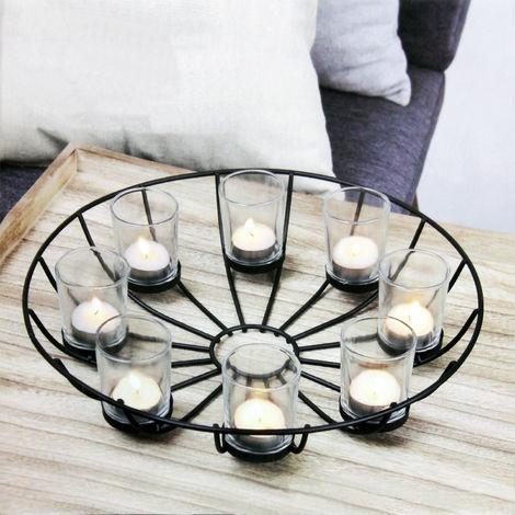 Teelichthalter ø34xh9cm Kerzenhalter Kerzenständer Kerzenleuchter