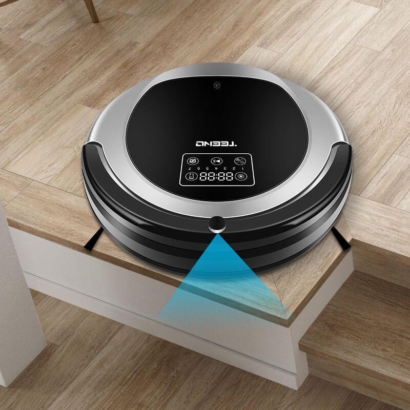 TEENO Aspirateur robot laveur WiFi Multifonction 2 en 1