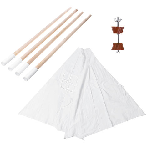 Teepee Tent For Children Play Tent Indian House Garden 100X100X135Cm B Hasaki
