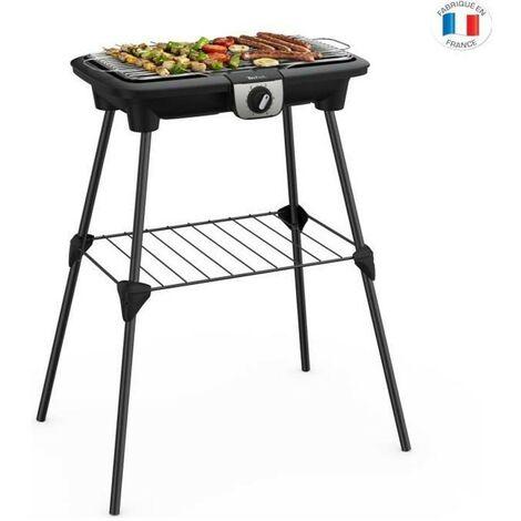 Tefal Easygrill Xxl Barbecue Electrique sur Pieds Thermostat Réglable