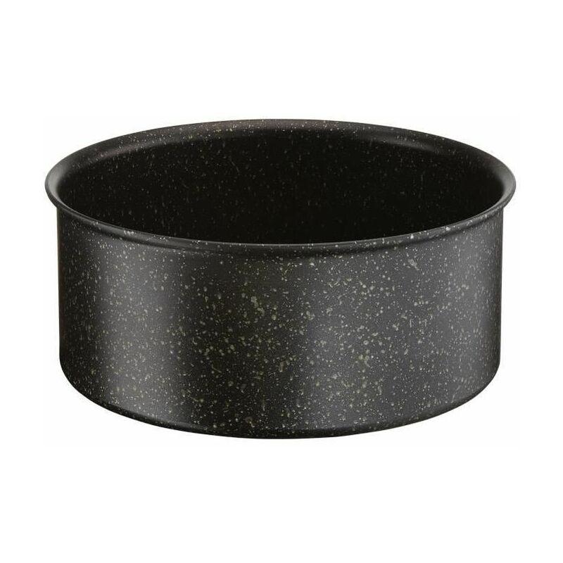 Tefal L6712812 Authentic Casserole, Aluminium, Noir, 16 cm