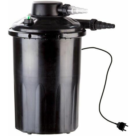 Teichfilter TF 4000 UV mit 3-fach Filterung 9 Watt UVC Gerät Garten Wasserfilter