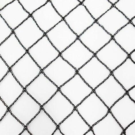 Teichnetz 10m x 12m schwarz Fischteichnetz Laubnetz Netz Vogelschutznetz robust