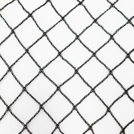 Teichnetz 15m x 12m schwarz Fischteichnetz Laubnetz Netz Vogelschutznetz robust