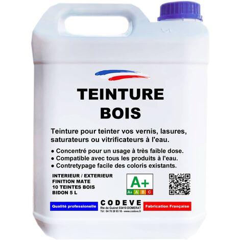 teinture bois teinte ch ne clair 5 litres 40 42861. Black Bedroom Furniture Sets. Home Design Ideas
