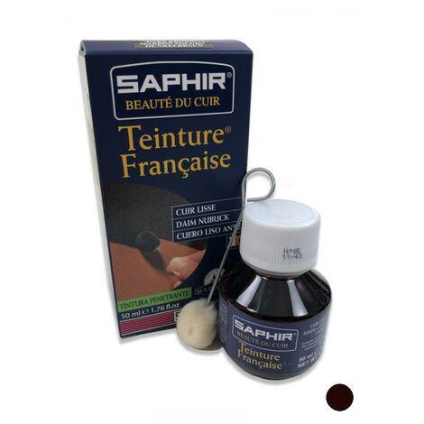 41c014672e5 TEINTURE FRANCAISE Cuir Liquide Saphir