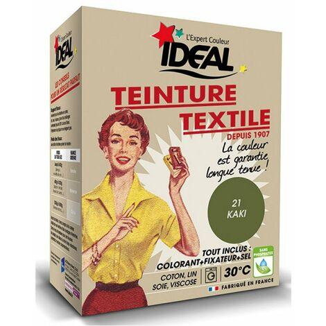 Teinture kaki boite 350g textile