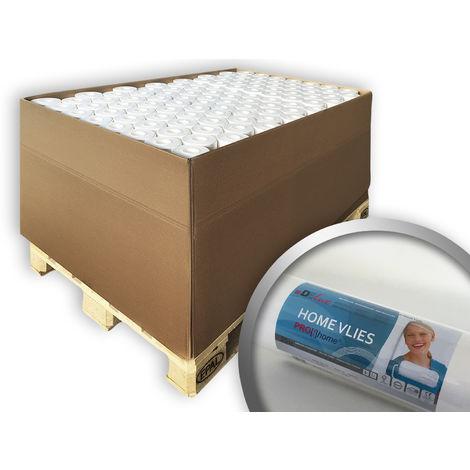 Tejido no tejido liso para reformas 130 g Profhome HomeVlies 399-135-105 papel de pared nonwoven TNT para reformas | 105 rollos 2625 m2
