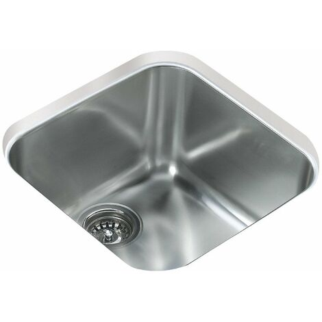 Teka Be 40.40 1 Bowl Undermount Kitchen Sink Stainless Steel