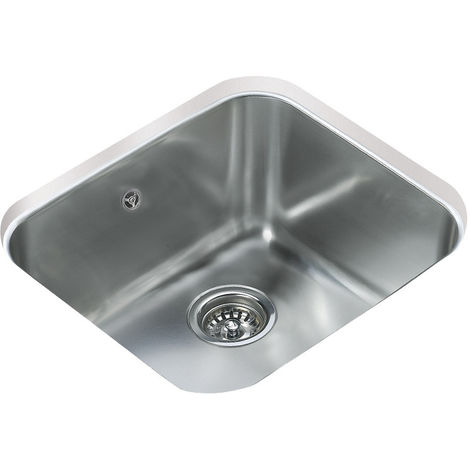Teka Be 45.40 1 Bowl Undermount Kitchen Sink Stainless Steel