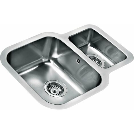 Teka Be 625reversible 1 And A Half Bowl Undermount Kitchen Sinks Reversible Sink Stainless Steel