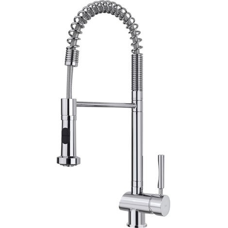 Teka My1 Pro Single Lever Pull Out Kitchen Tap Chrome