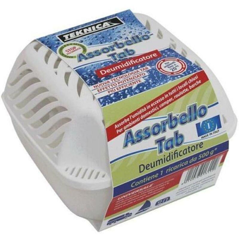 Teknica Deumidificatore Anti Umidita Assorbello Tab Con Ricarica Da 500 Gr IL CAMPO