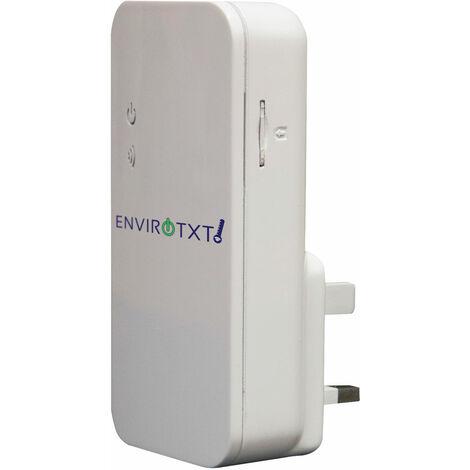 Tekview Envirotxt Power Loss & Temperature Alerts Socket via GSM Mobile Network