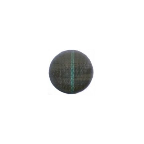 Tela Antihierbas de 10 m 105 grs/m2 (Anchura: 1,05 metros - Color: Verde/Negro - Largo del rollo: 10 metros)