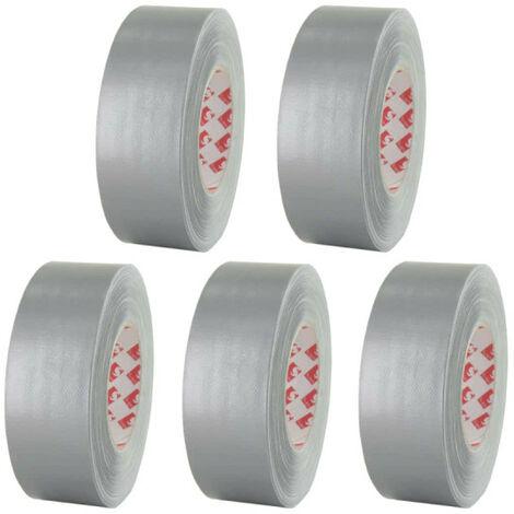 tela de cinta adhesiva Scapa 3120 Gris de 50 mm x 5