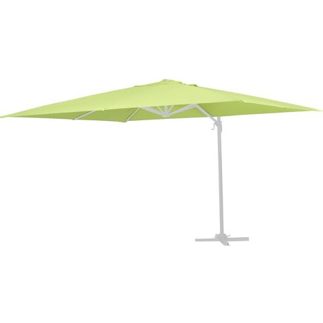 Tela de recambio para el parasol Sun 3 - 3 x 3 m - Verde