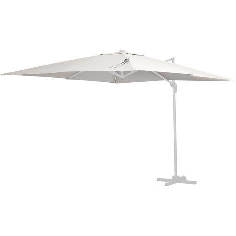Tela de recambio para el parasol Sun 4 - 3 x 4 m - Crudo