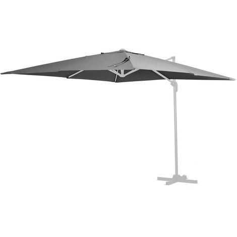 Tela de recambio para el parasol Sun 4 - 3 x 4 m - Gris