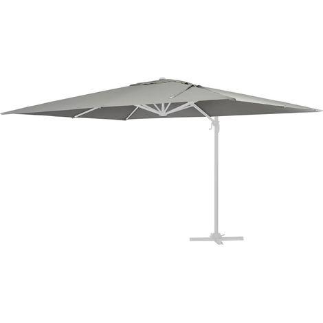 Tela de recambio para el parasol Sun 4 - 3 x 4 m - Gris claro