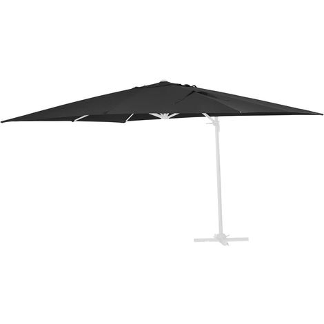Tela de recambio para el parasol Sun 4 - 3 x 4 m - Negro
