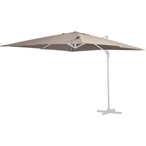 Tela de recambio para el parasol Sun 4 - 3 x 4 m - Topo