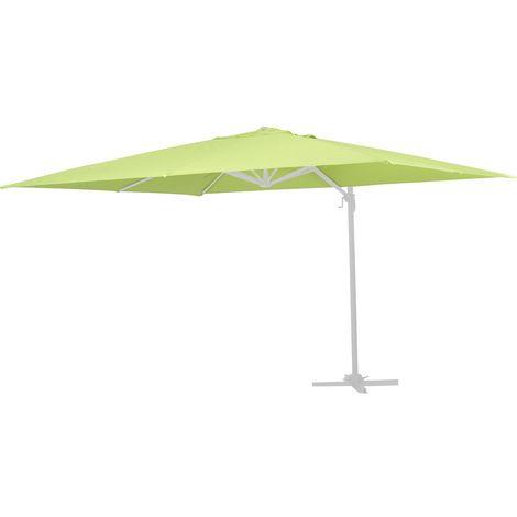 Tela de recambio para el parasol Sun 4 - 3 x 4 m - Verde