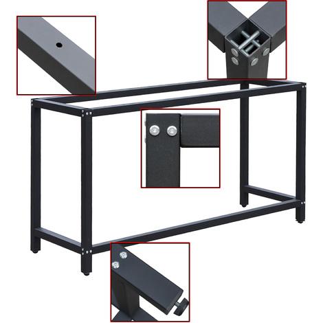 Telaio per banco da lavoro Struttura tavolo per attrezzi Base tavolo 50x175x80cm