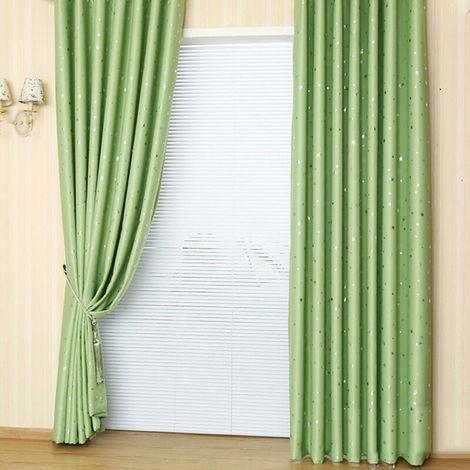 """Telas aislantes correderas Patio cortina de puerta de la sala de estar patio ventana de la puerta 51 """"X40"""" Grupo 1, verde"""