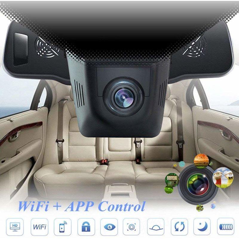 2.8 pollici 1080P HD DVR per auto Specchietto retrovisore Telecamera sul cruscotto Guida videoregistratore Videocamera Dash per auto