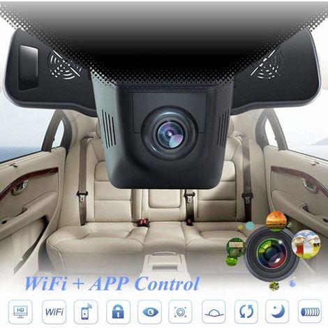 Telecamera Dvr Nascosta Per Auto, Videoregistratore Full Hd 1080P, Videocamera Per Cruscotto Con Grandangolo Di 170° E Visione Notturna (Colore Nero)
