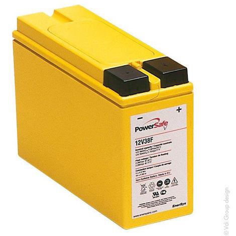 Telecom battery PowerSafe V FT 12V38F 12V 38Ah M8-F