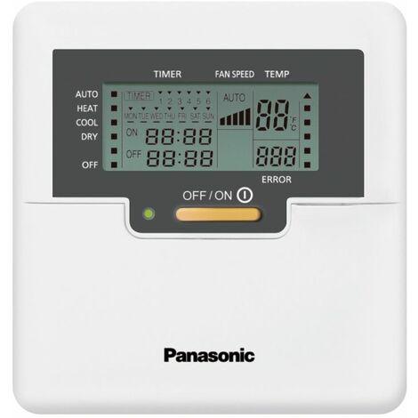 Télécomande filaire pour unité murale de climatisation PANASONIC - Blanc