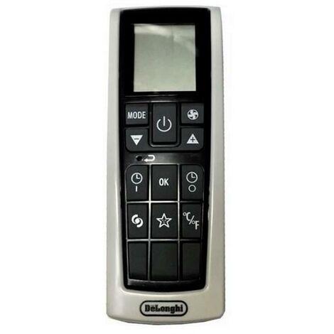 Télécommande (224145-40829) (5515110271) Climatiseur DELONGHI