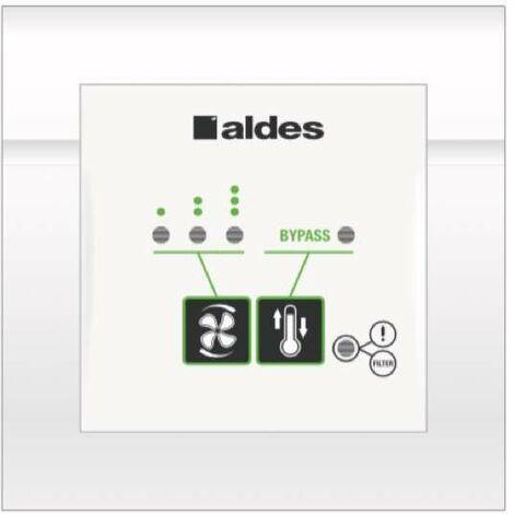 Télécommande 3 vitesses filaire - ALDES - 11023065