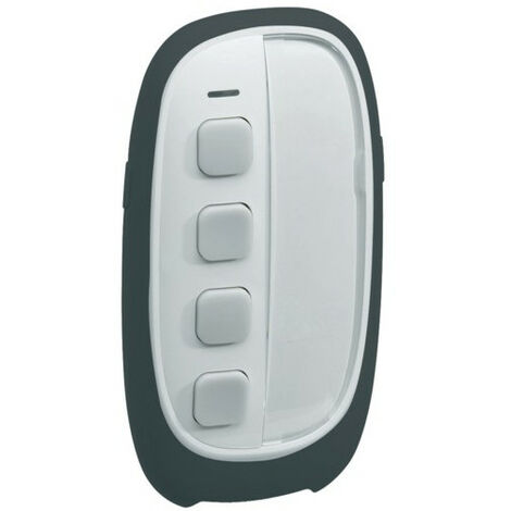 Télécommande 4 boutons 8 entrées Knx Radio Quicklink / Alarme Radio - Hager