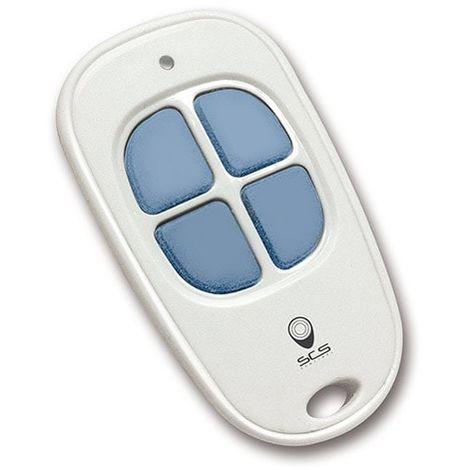 Télécommande 4 canaux, ControlGate Blanc et bleu, Blanc et bleu
