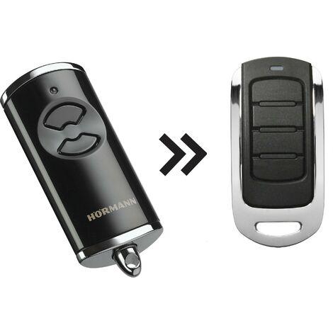 Télécommande ALLOTECH HOR4 compatible avec Hormann HSE4-868-BS, HSE4-868-BS, Compatible BiSecur