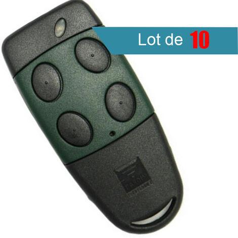 Télécommande CARDIN S449TX4 et S449 QZ4 433 MHZ Pack de 10 - CARDIN