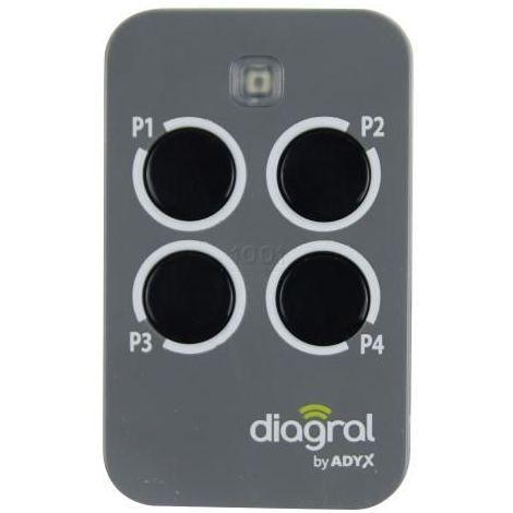 Télécommande DIAGRAL DIAG44MCX