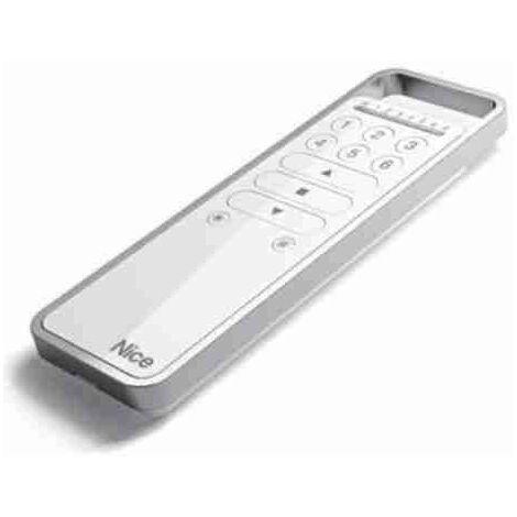 Télécommande NICE P6S pour le contrôle de 6 charges électriques, 6 groupes d'automatismes, volets, lumières