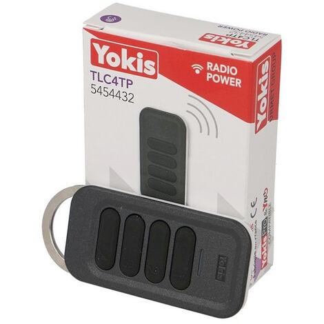 Télécommande sans fil 4 canaux POWER Yokis