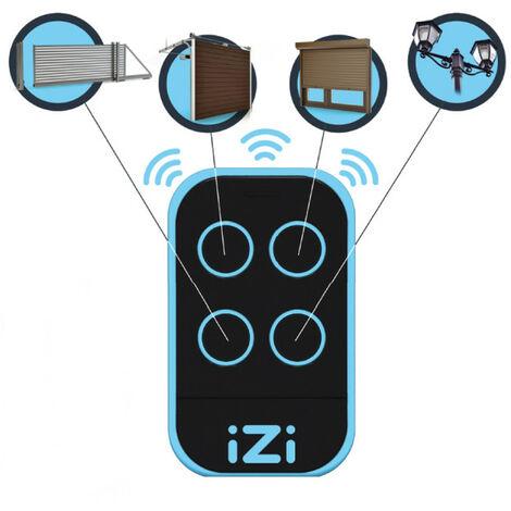 Télécommande universelle pour automatismes ( portail, porte de garage, volet etc..) IZI ONE4790833 pour Portail électrique
