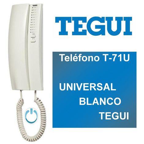 Teléfono T-71U UNIVERSAL BLANCO TEGUI 374240
