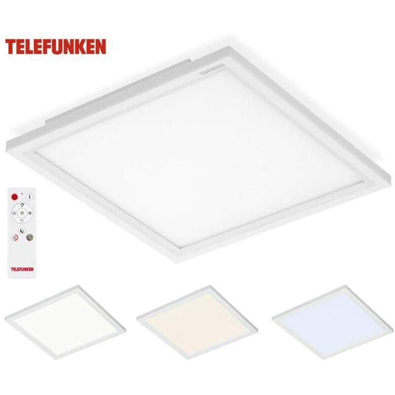 TELEFUNKEN - PANNELLO LED INTEGRATO 18 watt IP20 29,5x29,5x5 CON TELECOMANDO