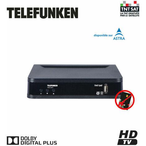 TELEFUNKEN TDSC 400 B DECODEUR SATELLITE TNTSAT HD (SANS CARTE TNTSAT)